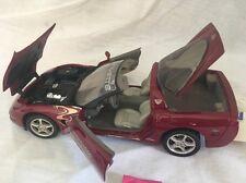 FRANKLIN MINT Maroon 2003 Corvette 50th Anniversary Pace Car Diecast B11C950