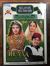 Henna - Rishi Kapoor - Hindi Movie DVD / Region Free DVD