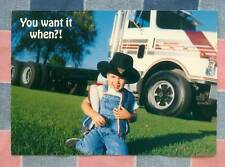 50 Postcards Little Lee Comic Trucking You Want it When