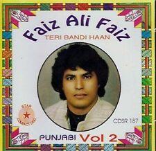 FAIZ ALI FAIZ - TERI BANDI HAAN- VOL2 - CD -  FREE UK POST