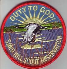 BSA WCFC Sand Hill Scout Reservation Summer Camp Patch - Duty to God 2006 S.R.