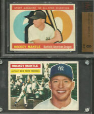 1960 TOPPS #563 MICKEY MANTLE AS BVG 8 NEW YORK YANKEES HOF ALL-STAR BASEBALL