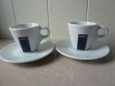 LAVAZZA ESPRESSO CUPS AND SAUCERS - 2