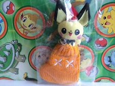 Pokemon Plush Pichu Bell Santa Stocking Christmas Xmas Doll Toy Holiday Ornament