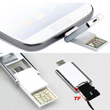LC_ MICRO USB 2.0 OTG ADAPTATEUR + SD TF Lecteur de carte pour Samsung HTC PC