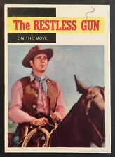 Vintage 1958 Topps TV WESTERNS card #53 ON THE MOVE combined ship
