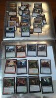 Lot MAGIC CARD / Carte MAGIC 28 rares et 92 uncos en VF (Edition de 2008 à 2013
