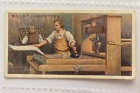Caxtons Printing Press Wills Cigarettes 1912 Historic Events Trading Card (B6)