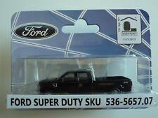River Point 2008 Ford F-350 Xlt Sport Crew Cab Black 1/87 Ho Plastic