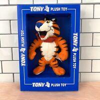 Kellogg's Tony the Tiger Vintage 1997 Plush Toy Stuffed Animal in Original Box