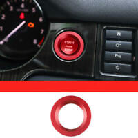 Red Engine Start Button Loop Cover Trim Land Rover Discovery Sports Evoque SDZ