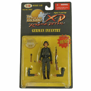 21st Century Toys Ultimate Soldier XD German Infantry - 1:18 Scale WWII THG