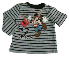 Disney Baby Mickey Mouse Long Sleeve Trick Or Treat Shirt 18 Months (Euc)