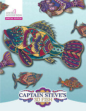 Anita Goodesign Embroidery Machine Design CAPTAIN STEVE'S 3D FISH