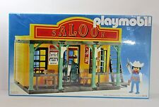 Playmobil 1984 Vintage Western Town Saloon 3461 NIB Sealed