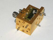 HUGHES MILLITECH 75-110 GHz W band Microwave Millimeter MIXER TRANSLATOR WR10