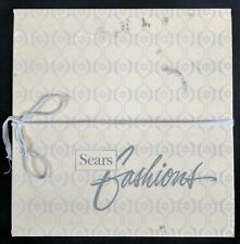 bb921ba2e3f37 Vintage Sears Fashions Empty Box Only Hat Storage Retro Some Wear Staining  Scuff