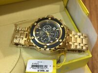 23921 Invicta Subaqua Swiss Quartz Chronograph Stainless Steel Bracelet Watch