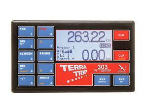 Terratrip 303 Geotrip V5, Odomètre Rallye Ordinateur, Raceparts Cc