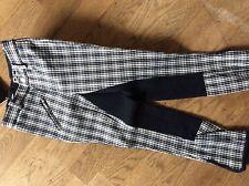 Reithose Pfiff 101142 Gr. 152  blau-grün kariert