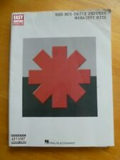 Red Hot Chili Peppers-Greatest Hits-Sheet Music Songbook With Notes & Tabs 2003