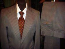 Vintage 70's Mens MOD RETRO LEISURE DISCO SUIT Jacket 38 / 30 Pants w/ Neck Tie