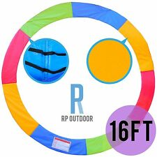 NEW Replacement Trampoline Rainbow Safety Pad Cover Round/Circle Spare 16ft foot