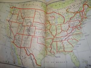 1872 Guyot's Geographical Series Elementary Geography Book