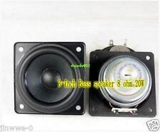 """2pcs For SONY 3"""" inch Neodymium woofer speaker Loudspeaker 8Ω 8ohm 20W Rubber"""