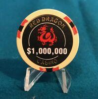 RED DRAGON HOTEL CASINO $1,000,000 CHIP,  MOVIE (RUSH HOUR) LAS VEGAS, NEVADA