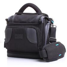 USA Gear Camera Case for Panasonic LUMIX w/ Strap , Ripstop Nylon , & Pockets