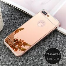 Luxury Ultra Slim Mirror Back Soft Silicone TPU Case Cover For iPhone 6 7 7 Plus