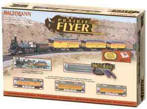 Bachmann N Scale Prairie Flyer Train Set Item 24004