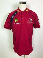 Kooga Queensland Reds Mens Super Rugby Union Jersey Polo Shirt T-Shirt Tee M