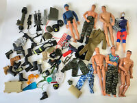"1990's 12"" Action Man Figure Doll Weapons Accessories GI Joe M&C Formative Lot 3"