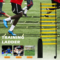 4/5/6M Speed Agility Fitness Training Ladder Footwork Football Soccer Straps S1