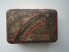 Victorian Crystalized Chyloong Ginger R.H. Macy & Co. New York Spice Tin 1800s?