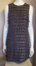 FRENCH CONNECTION Dress, 60's Style, Chiffon Layered, Size 8 **VG Condition**