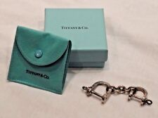 Equestrian Key Ring Chain Key Chain Rare Tiffany & Co. Sterling Silver Horseshoe