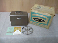 ARGUS SHOWMASTER 500-A PROJECTER 8MM With instruction and original box