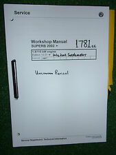 SKODA SUPERB 2.0L 85kw (1984cc AZM) PETROL ENGINE OEM WORKSHOP MANUAL 2002>