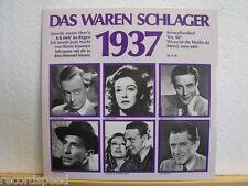 """★★ 12"""" V/A - Rühmann / Heesters / Willy Fritsch / ODEON-Club  Das war 1937"""