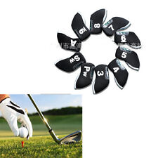 1pcs Golf Head Cover Club Iron Putter Head Protector Set Neoprene Black HOT MGUS