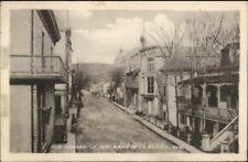 Ste Marie de la Beauce Quebec Rue Perreault Used 1924 Postcard