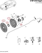 Aston Martin V8 Vantage Engine Clutch Kit (6 or 7-Speed Sportshift Transmission)