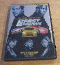2 Fast 2 Furious (DVD, 2003, Full Frame) Paul Walker, Vin Diesel, Eva Mendes