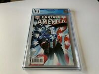 CAPTAIN AMERICA 34 CGC 9.8 WHITE PAGES COOL RED WHITE BLUE COVER MARVEL COMICS