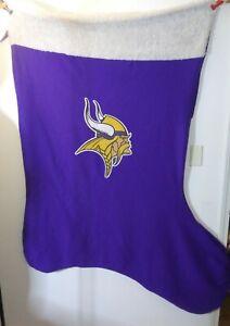 NFL GIANT Minnesota Vikings 6 feet Tall Stocking.Blanket, Wearable. NFL