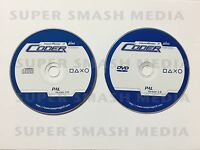 Swap Magic 3.8 PS2 PAL CD, DVD Playstation 2 SwapMagic Coder 3 Discs Only - NEW