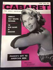 Blaze Starr Original Cabaret Magazine June 1956